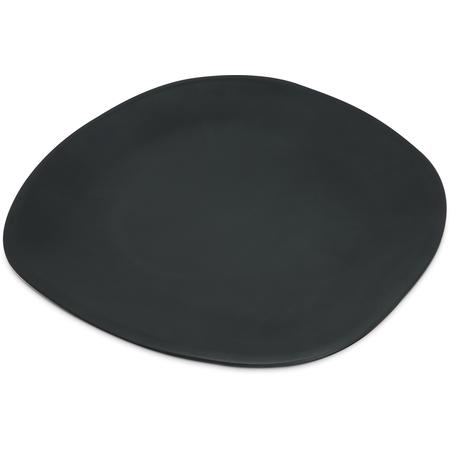 """5310238 - Ridge Melamine Oblong Platter 13"""" - Slate"""