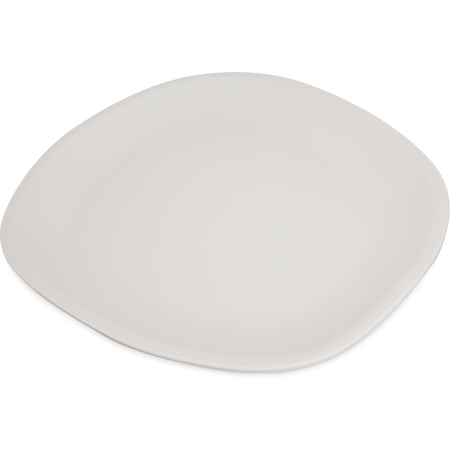 "5310223 - Ridge Melamine Oblong Platter 13"" - Cement"