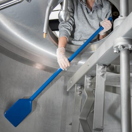 "40352C14 - Sparta® Nylon Paddle Scraper w/Plastic Handle 40"" Long - Blue"