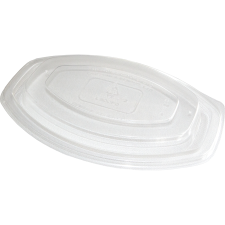 DXL900PDCLR - Dome Lid for Microwaveable Oval Casserole Container (300/cs) - Clear