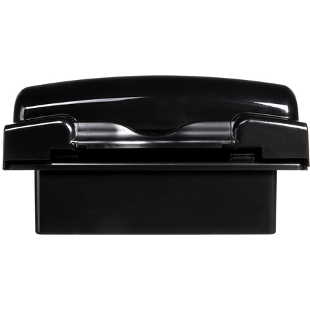 "T8008BKUNV - RECESSED ROLL TOWEL - TND - 8""  BLACK"