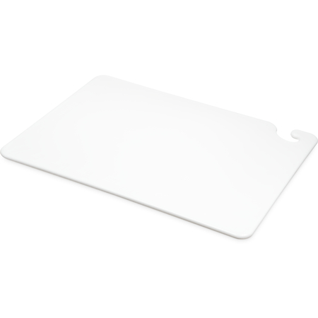 """CB152012WH - Cut-N-Carry Cutting Board 15"""" x 20"""" x 0.5"""" - White"""