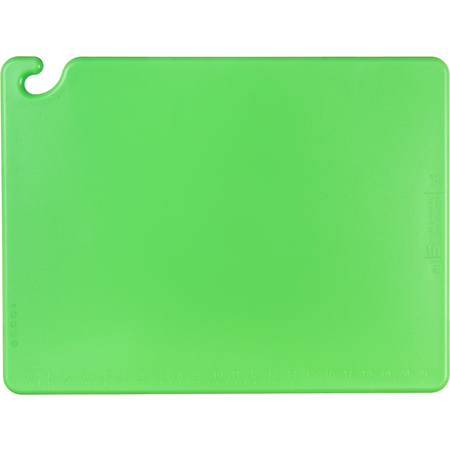 "CB182434GN - Cut-N-Carry Cutting Board 18"" x 24"" x 0.75"" - Green"