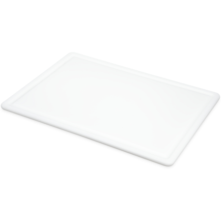 "CB152012GVWH - Grooved Cutting Board 15"" x 20"" x 0.5"" - White"