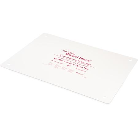 """CBM1622 - Saf-T-Grip Cutting Board Mate 16"""" x 22"""" - White"""