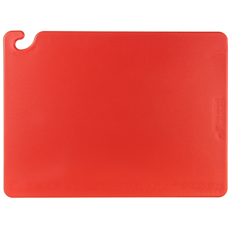 "CB182412RD - Cut-N-Carry Cutting Board 18"" x 24"" x 0.5"" - Red"