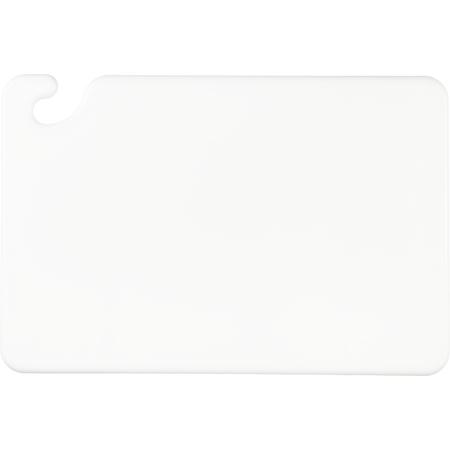 """CB121812WH - Cut-N-Carry Cutting Board 12"""" x 18"""" x 0.5"""" - White"""