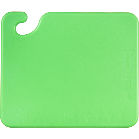"CB101212GN - Cut-N-Carry Cutting Board 12"" x 12"" x 0.5"" - Green"