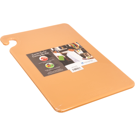"CB121812BR - Cut-N-Carry Cutting Board 12"" x 18"" x 0.5"" - Brown"