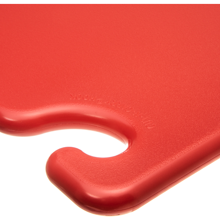 "CB182434RD - Cut-N-Carry Cutting Board 18"" x 24"" x 0.75"" - Red"