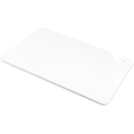 """CB121834WH - Cut-N-Carry Cutting Board 12"""" x 18"""" x 0.75"""" - White"""