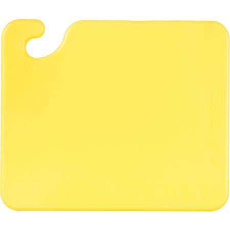 "CB101212YL - Cut-N-Carry Cutting Board 12"" x 12"" x 0.5"" - Yellow"