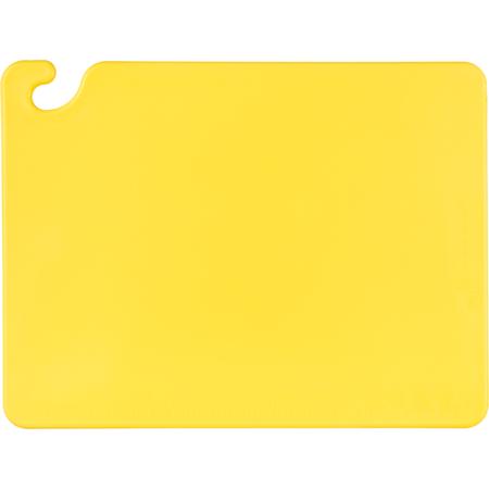 "CB152012YL - Cut-N-Carry Cutting Board 15"" x 20"" x 0.5"" - Yellow"
