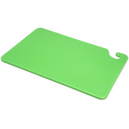 "CB121812GN - Cut-N-Carry Cutting Board 12"" x 18"" x 0.5"" - Green"