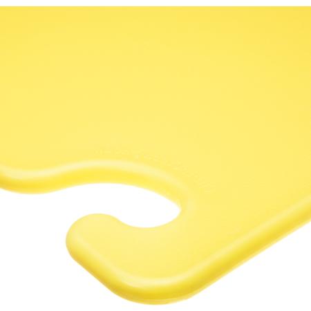 "CB182412YL - Cut-N-Carry Cutting Board 18"" x 24"" x 0.5"" - Yellow"