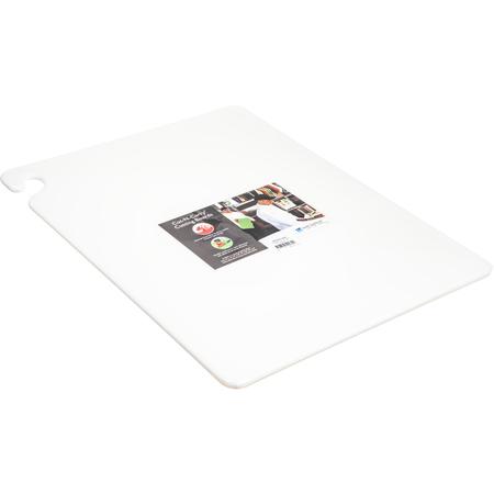 """CB182412WH - Cut-N-Carry Cutting Board 18"""" x 24"""" x 0.5"""" - White"""