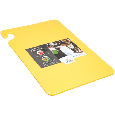 "CB121812YL - Cut-N-Carry Cutting Board 12"" x 18"" x 0.5"" - Yellow"