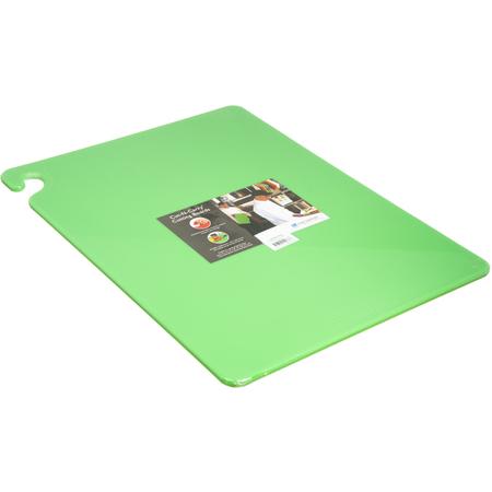 "CB182412GN - Cut-N-Carry Cutting Board 18"" x 24"" x 0.5"" - Green"