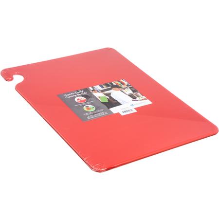 "CB152012RD - Cut-N-Carry Cutting Board 15"" x 20"" x 0.5"" - Red"