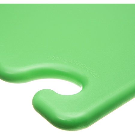 "CB121834GN - Cut-N-Carry Cutting Board 12"" x 18"" x 0.75"" - Green"