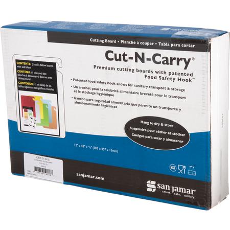 "CB1520KC - Cut-N-Carry Cutting Board 15"" x 20"" x 0.5"""
