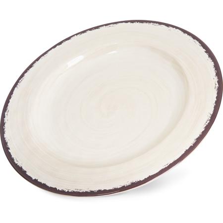 """5400153 - Mingle™ Melamine Dinner Plate 11"""" - Sweet Cream"""