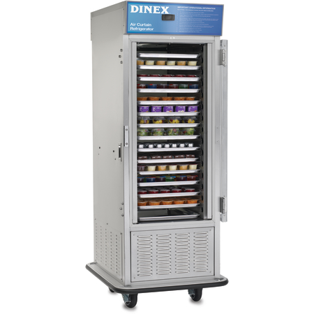 DXIRAC15DOERS - Air Curtain Refrigerator - Stainless Steel