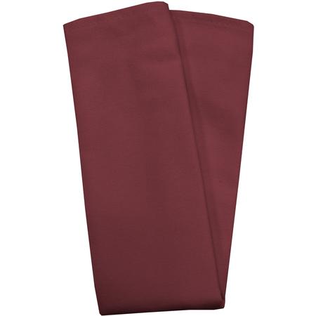 "54412020NH046 - Market Place Linens Napkin 20"" x 20"" - Burgundy"