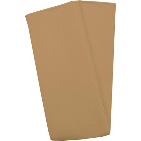 "54412020NM008 - Market Place Linens Napkin 20"" x 20"" - Gold"