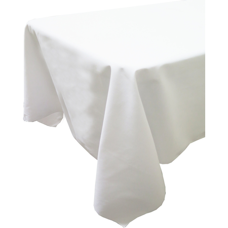 "54416161SH010 - Market Place Linens Tablecloth 61"" x 61"" - White"