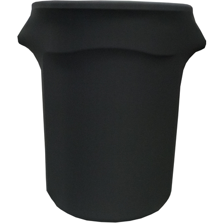 BSTCC44014 - Budget Stretch Waste Container Cover 44 Gallon - Black