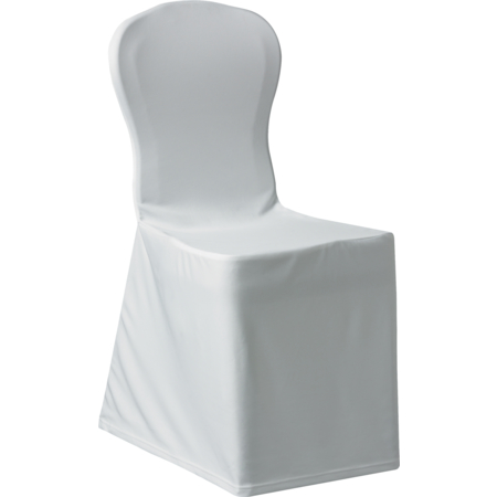 """5451CC010 - Silhouette Chair Cover 22"""" x 17.5"""" x 36.5"""" - White"""