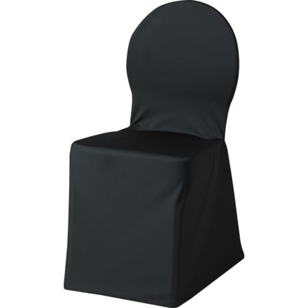 """5451CC014 - Silhouette Chair Cover 22"""" x 17.5"""" x 36.5"""" - Black"""