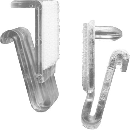 AV25 - Snap Drape® AV Table SkirtingClips - Clear