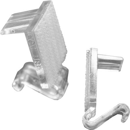 CV25 - Snap Drape® CV Table Skirting Clips - Clear