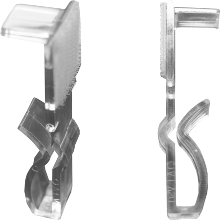 EV25 - Snap Drape® EV Table Skirting Clips - Clear