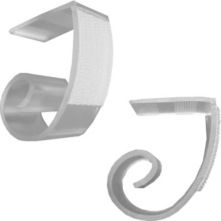 JV25 - Snap Drape® JV Table Skirting Clips - Clear