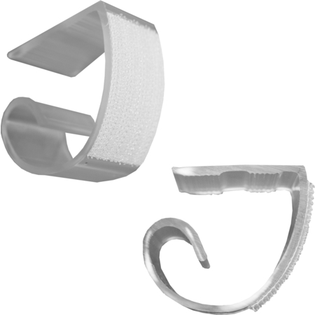 KV25 - Snap Drape® KV Table Skirting Clips - Clear