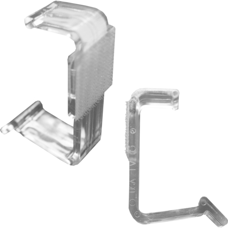 LV25 - Snap Drape® LV Table Skirting Clips - Clear