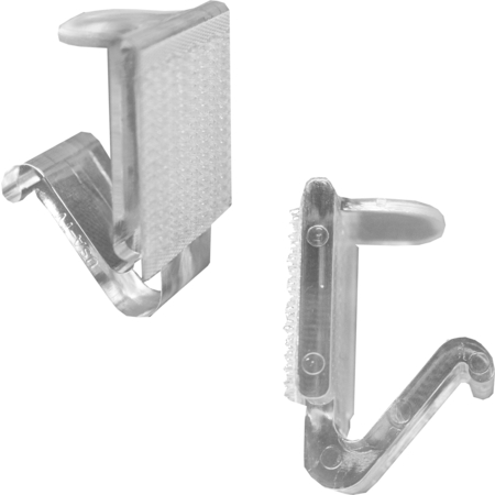 TV25 - Snap Drape® TV Table Skirting Clips - Clear
