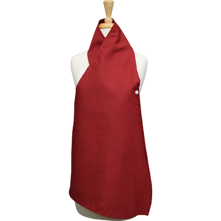 """54482534DS023 - Dining Scarf 34"""" x 25"""" - Maroon"""