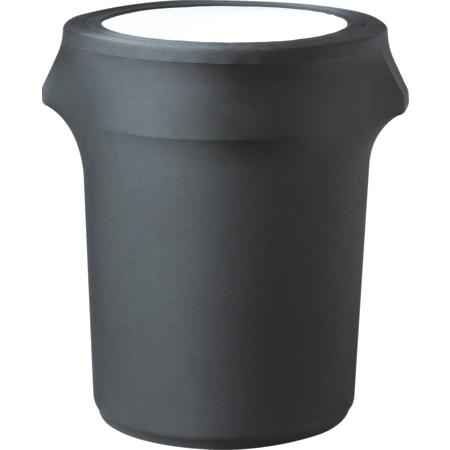 CN420WC44014 - Contour Contour Waste Container Cover 44 Gallon - Black