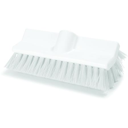 """4042302 - Sparta® Hi-Lo™ Floor Scrub Brush 10"""" - White"""