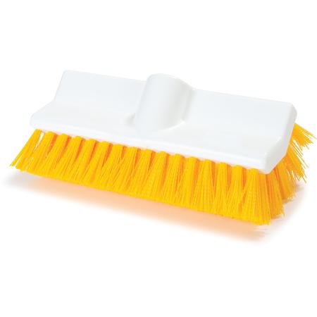 """4042304 - Sparta® Hi-Lo™ Floor Scrub Brush 10"""" - Yellow"""