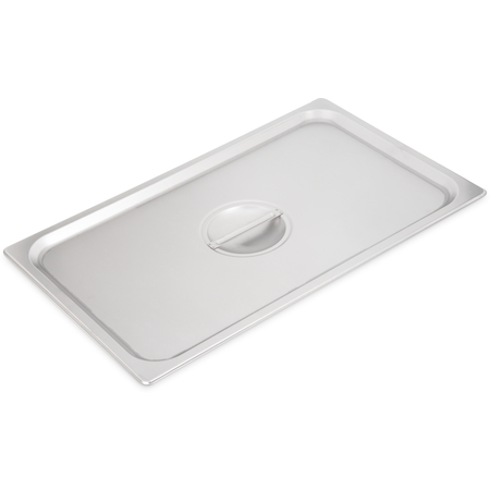 607000C - DuraPan™ Stainless Steel Steam Table Hotel Pan Handled Cover Full-Size