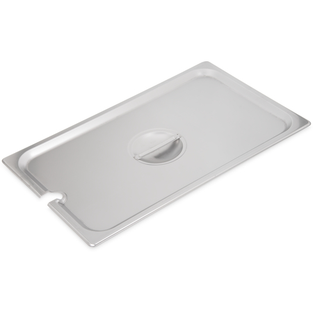 607000CS - DuraPan™ Stainless Steel Hotel Pan Slotted Handled Cover Full-Size