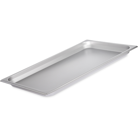 "607001 - DuraPan™ Light Gauge Stainless Steel Steam Table Hotel Pan Full-Size, 1"" Deep"