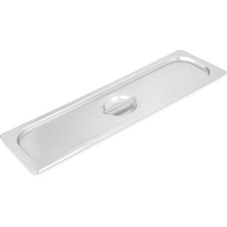 60700HLC - DuraPan™ Light Gauge Stainless Steel Steam Table Long Hotel Pan Cover Half-Size