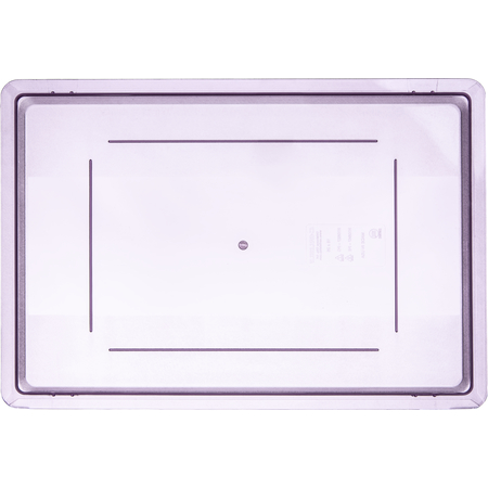 """10627C89 - Color-Coded Food Storage Container Lid 26"""" x 18"""" - Purple"""