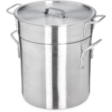 60921 - Double Boiler w/ Insert 12 qt - Aluminum